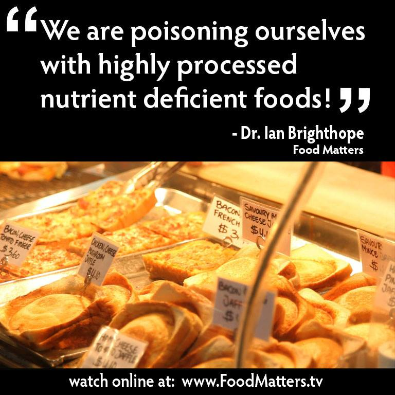We Are Poisoning Ourselves