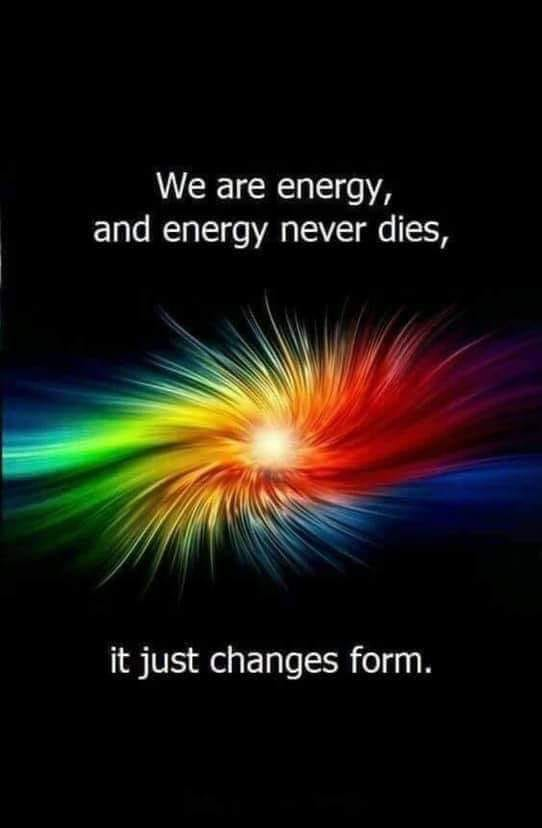 We Are Energy - Not Quite!