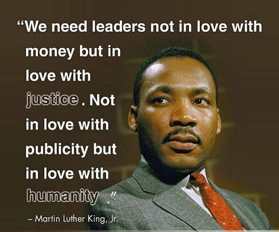 We Need Leaders