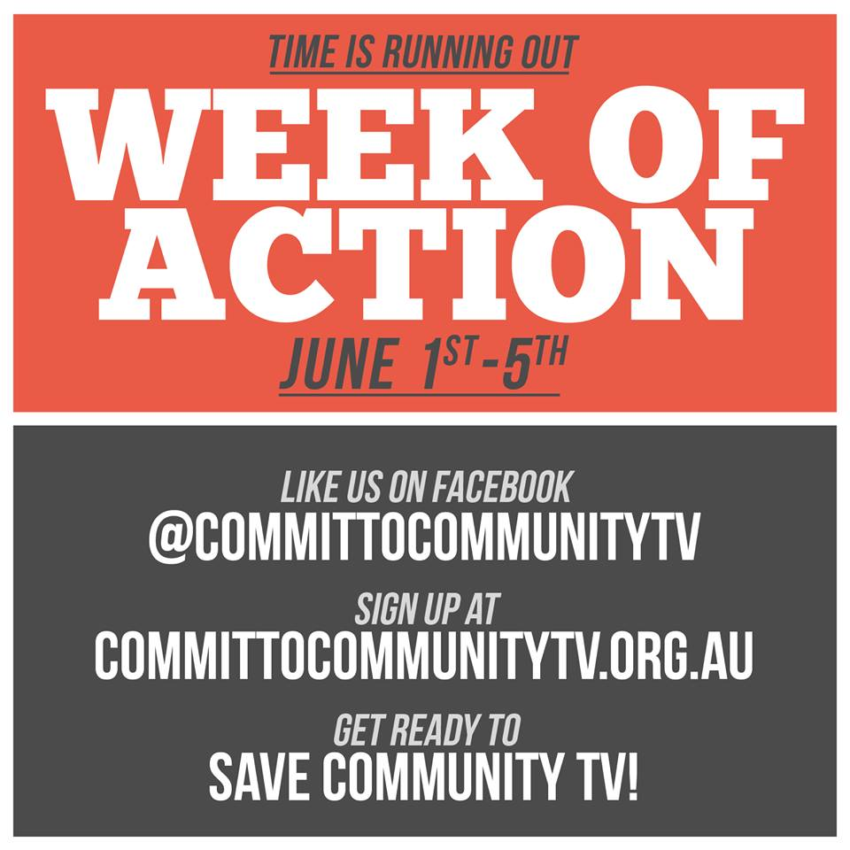 Week Of Actio for Cummunity TV