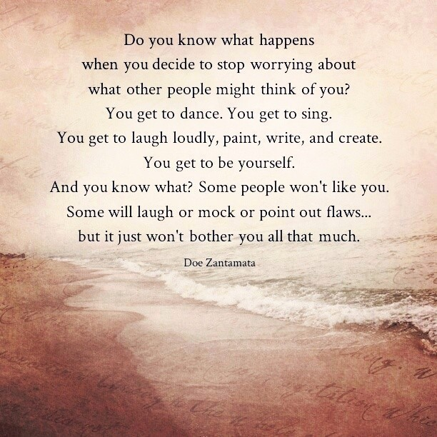 What Happens When You Stop Worrying