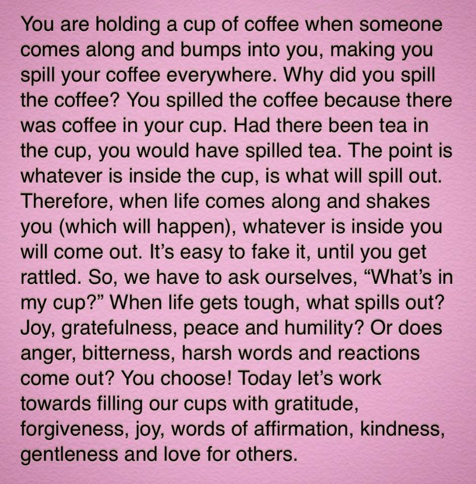 What Is In Your Cup?