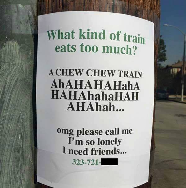 What Kind Of Train Eats Too Much?
