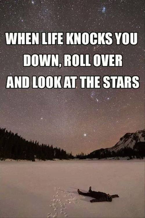 When Life Knocks You Down...
