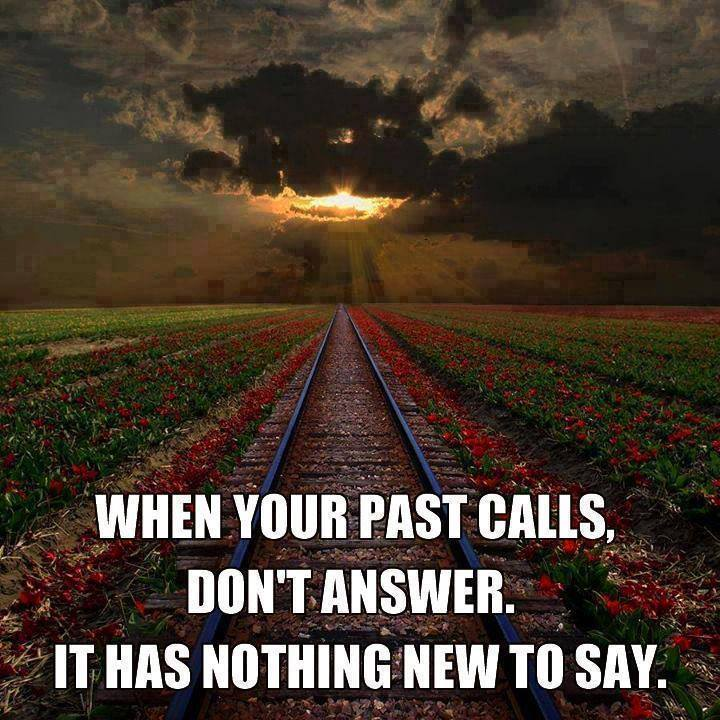 When Your Past Calls