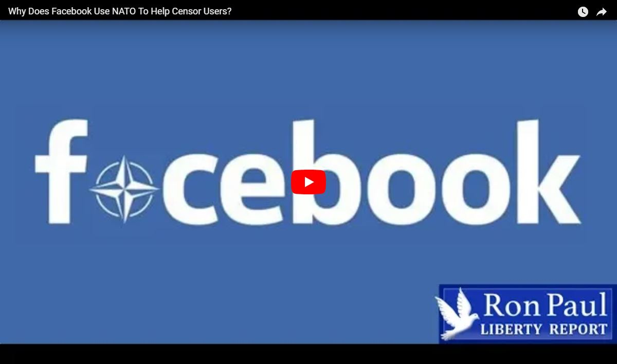 Why Does Facebook Use NATO To Censor Users