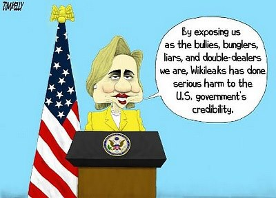 Wikileaks Damages US Credibility