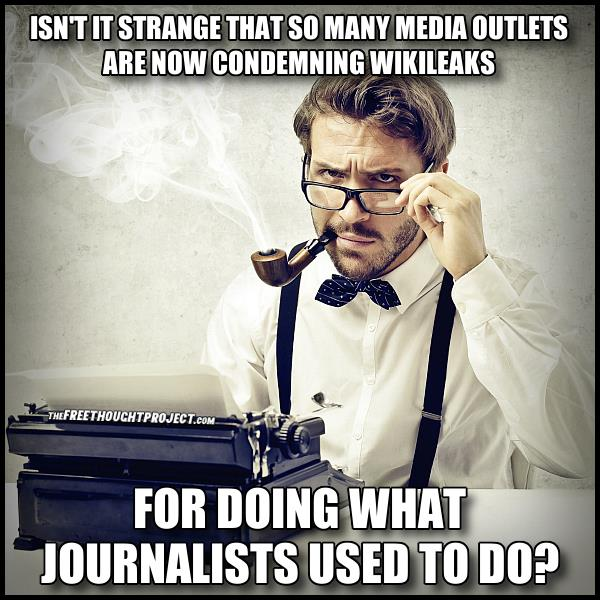 Wikileaks Replaces True Journalism