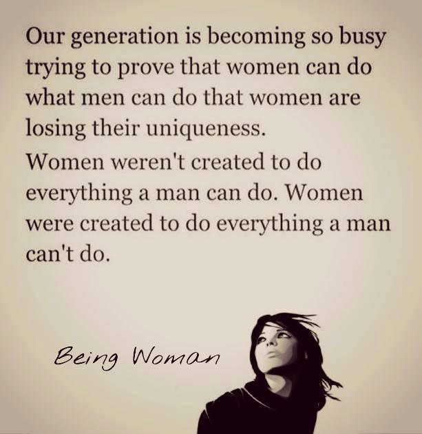 Women Were Created