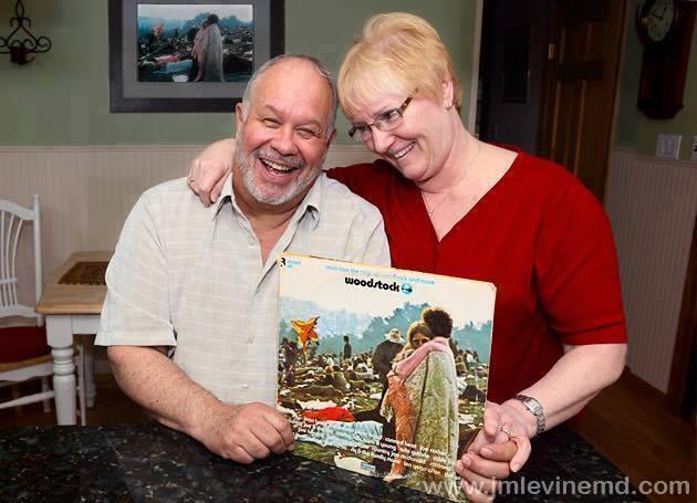 Woodstock Album Cover Couple