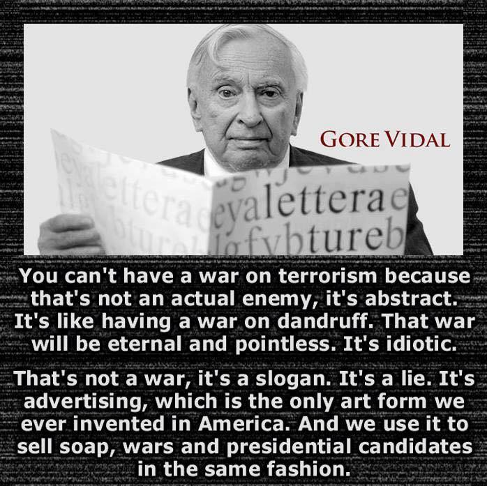 You Cannot Have A War On Terror