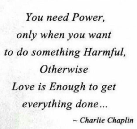 You Only Need Power To Do Harm