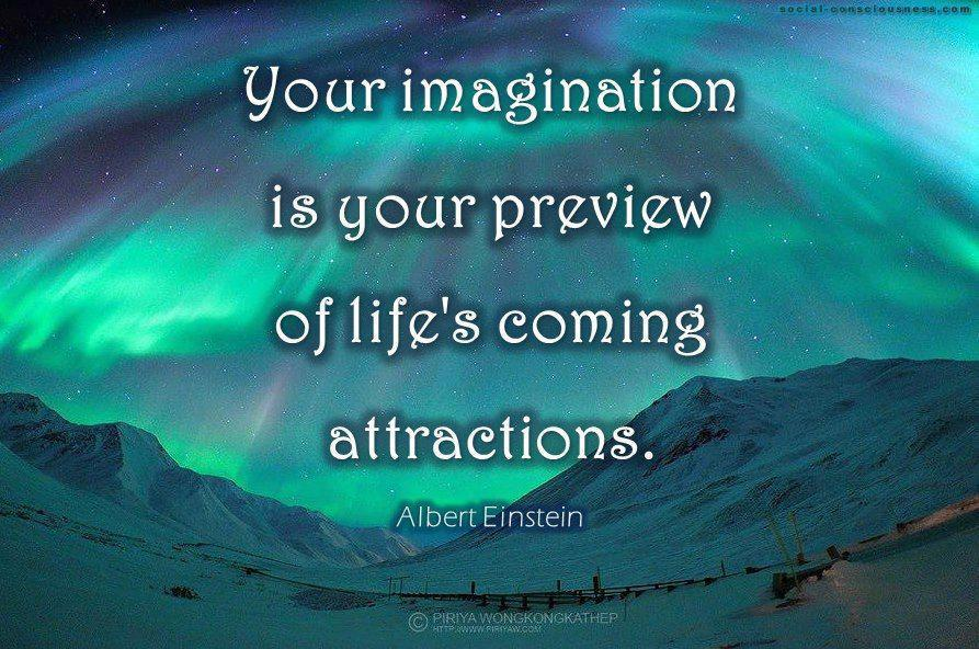 Your Imagination Is Your Preview