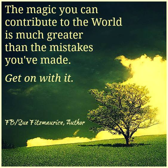 Your Magic Is Greater Than Your Mistakes