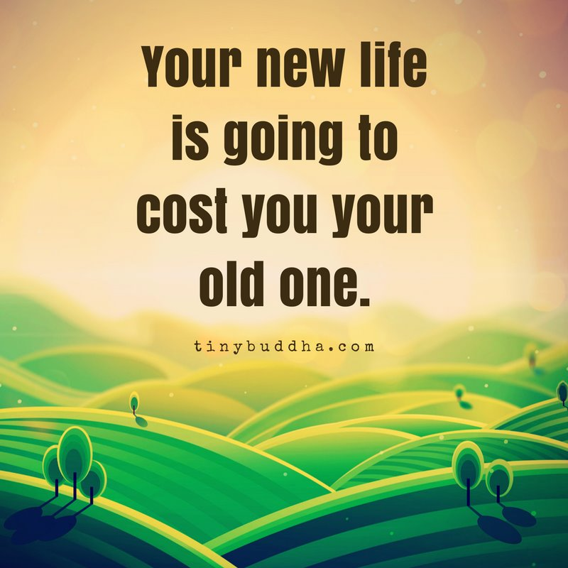 Your New Life Is Going To Cost You Tour Old One