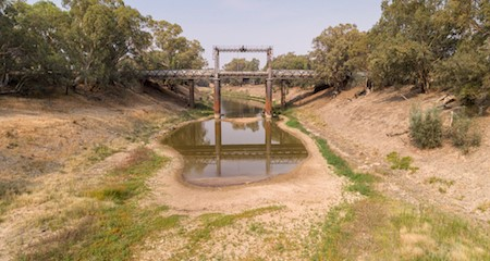 Darling River at Wilcannia