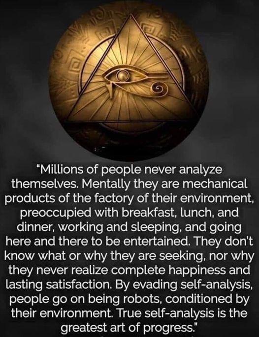 Analyze Yourself