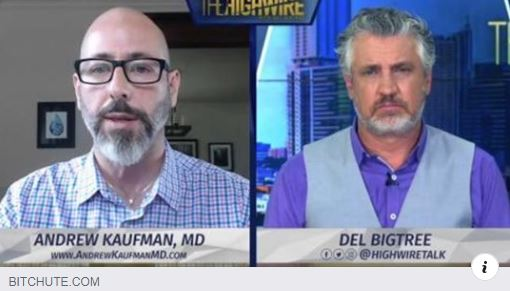 Andrew Kaufman MD and Del Bigtree