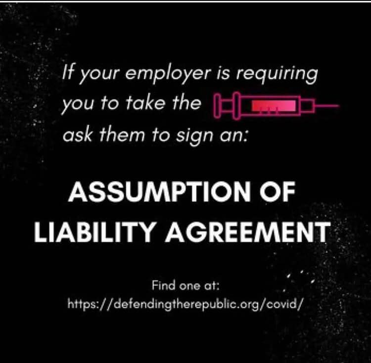 Assumption Of Liability Agreement