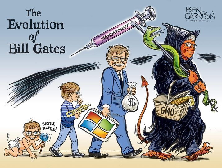 Bill Gates Evolution