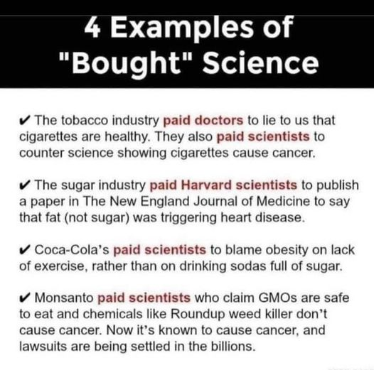 4 Examples Of Bought Science
