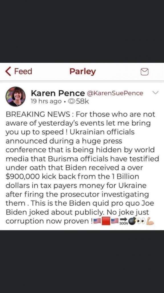 Burisma Nail Biden