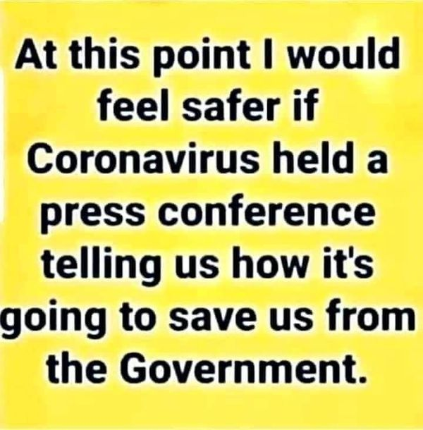 COVID Save Us From Government?