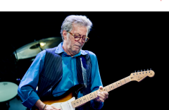 clapton with guitar
