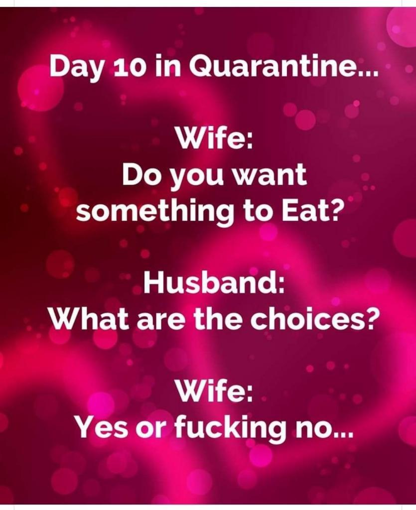 Day Ten In Quarantine