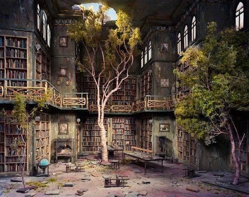 Derelict Library