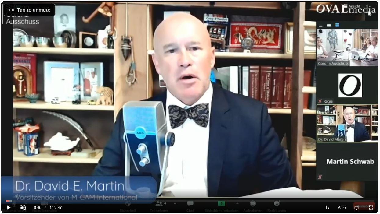 Dr David E Martin