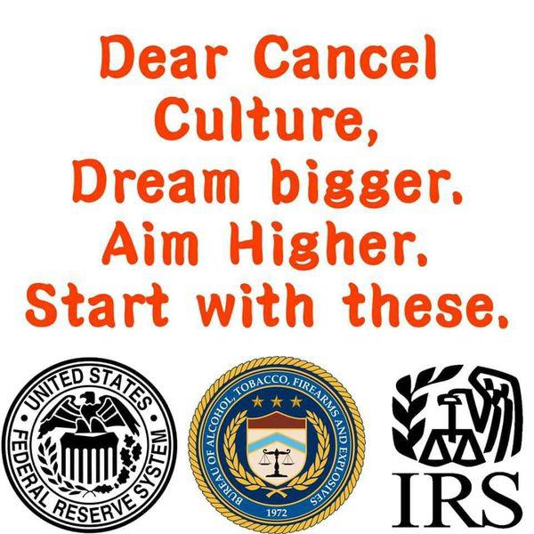 Cancel Culture - Dream Bigger!