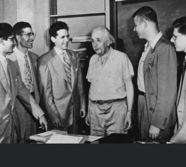 Einstein and Students