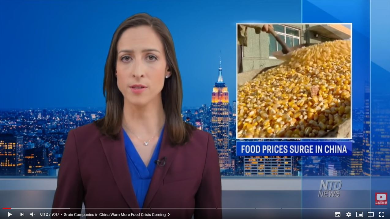 Food Prices In China Surge