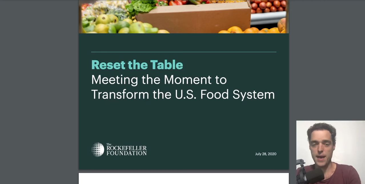 Food Production Reset - Syndemic