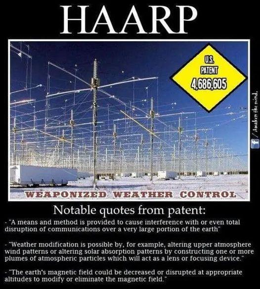 HAARP Weaponized Weather Control