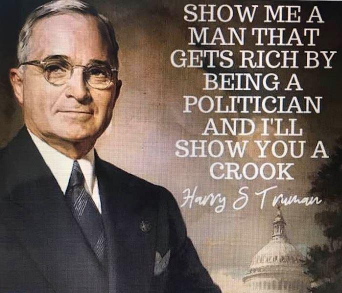 Harry S Truman Alleged Quote