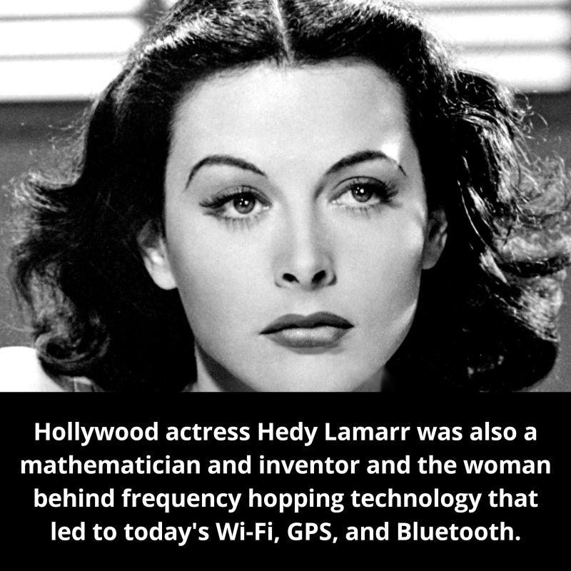 Hedy Lamarr - Thanks