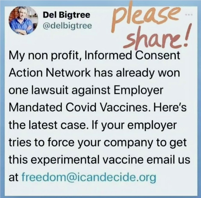 ICAN Legal Victory Against Mandated Vaccines