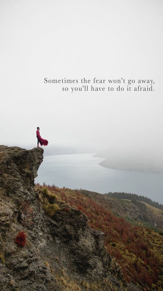 If The Fear Does Not Go