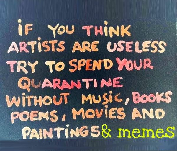 In Praise Of Artists