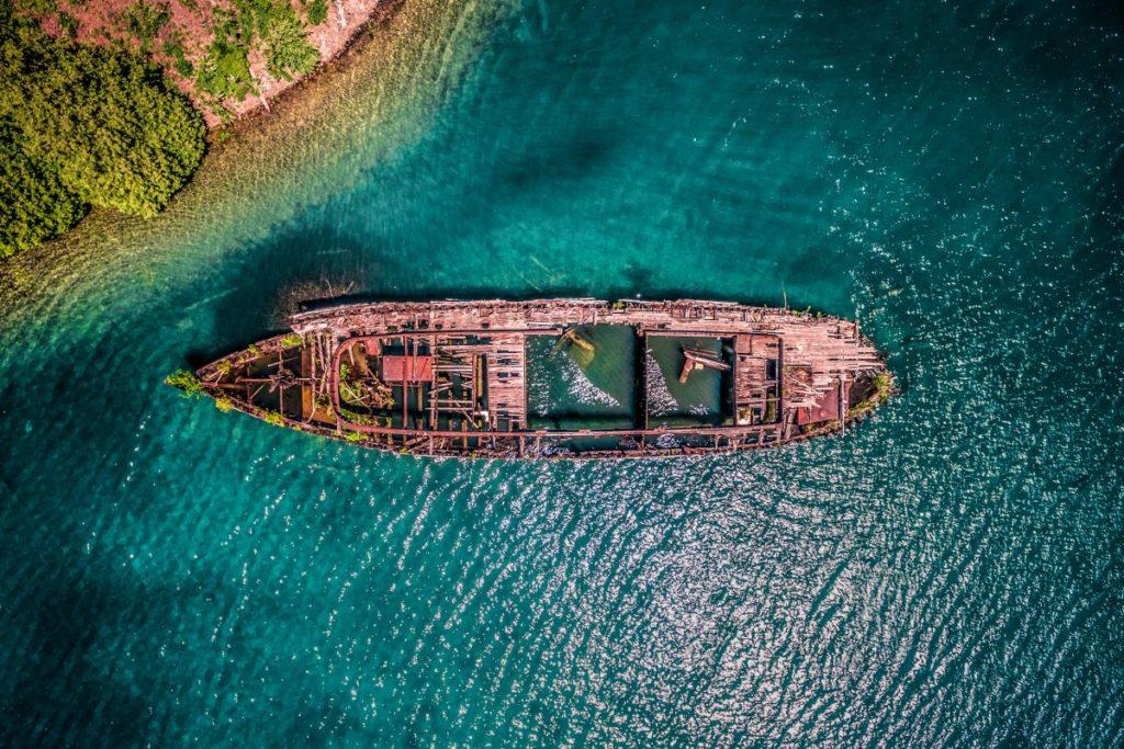 JustenSoule Gargantua Shipwreck