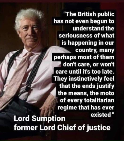 Lord Sumpton Quote