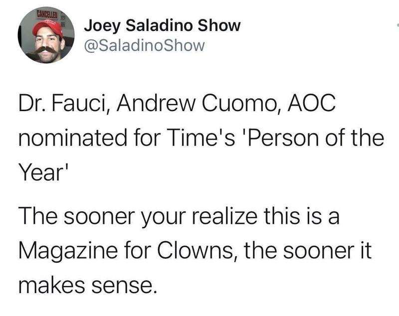 Time Magazine For Clowns