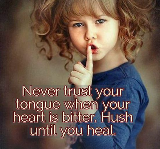 Never Trust Your Tongue