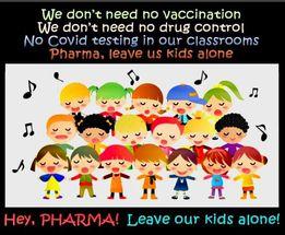 Pharma Leave Our Kids Alone