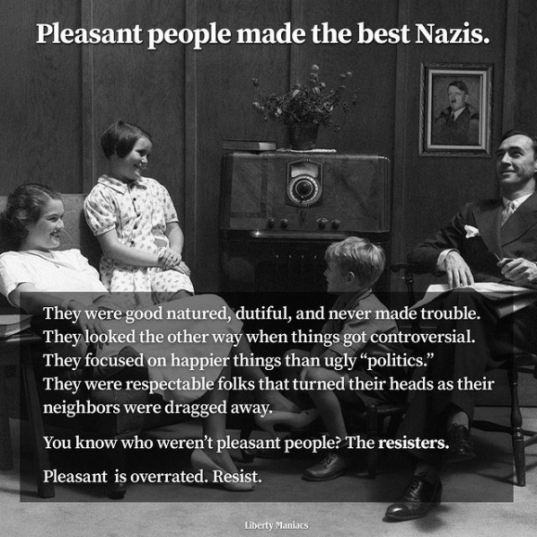 Pleasant People Maske The Best NAZIs