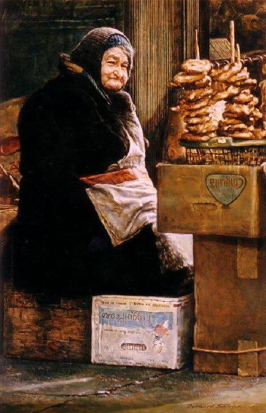 Pretzel Vendor