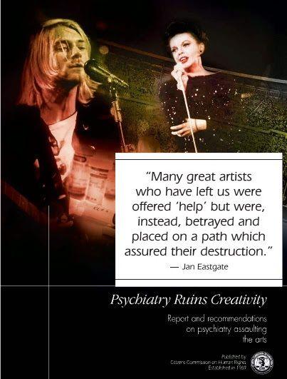 Psychiatry Ruins Creativity