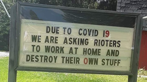 Asking Rioters To Work From Home
